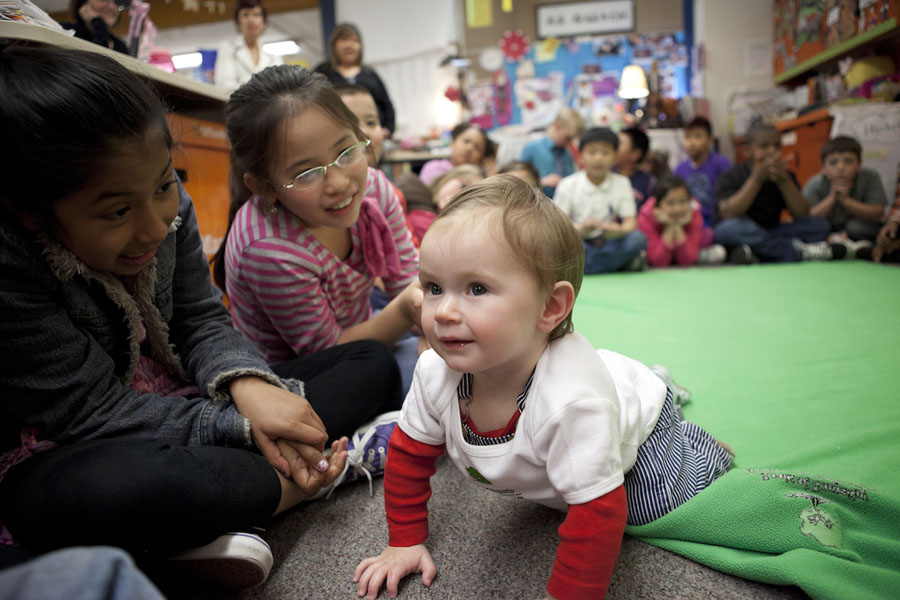 Want to Reduce Bullying in Schools? Bring in Babies
