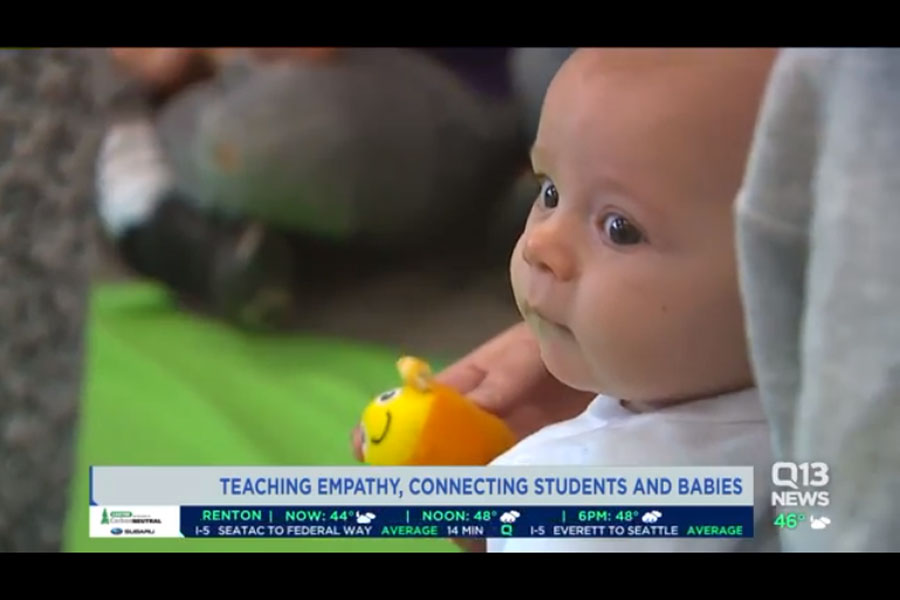 Unique program brings babies into local classrooms to teach empathy, prevent bullying